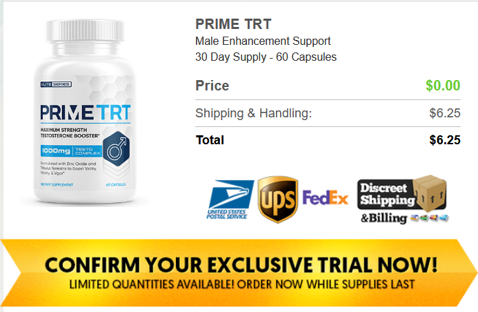 Prime TRT Male Enhancement Free Trial