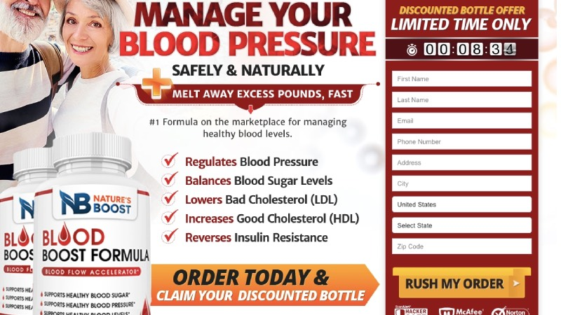 Blood Boost Formula Buy Now