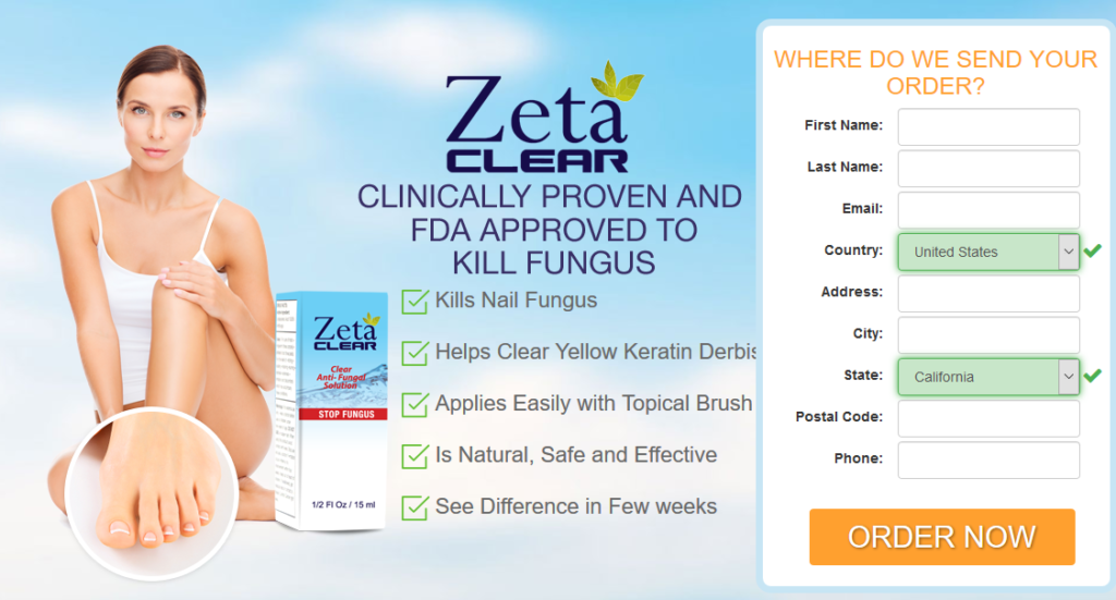 Zeta Clear Antifungal Solution